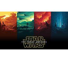 Star wars force awakens Photographic Print