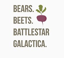 Bears. Beets. Battlestar Galactica - The Office Unisex T-Shirt