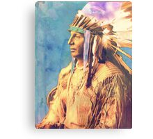 War Chief Canvas Print