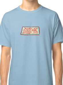 Toynbee Idea Mystery Time Classic T-Shirt