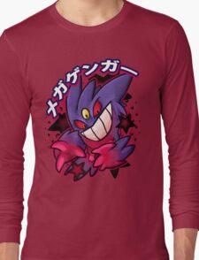 Mega Gengar Pokemon Long Sleeve T-Shirt