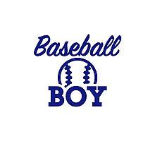 Baseball boy Photographic Print