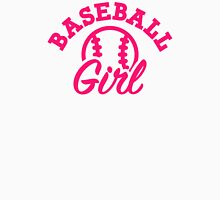 Baseball girl Womens Fitted T-Shirt