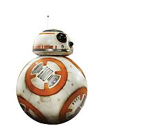 BB8 Star Wars Force Awakens Photographic Print