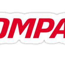 Compaq Logo Products Sticker