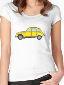 Citroen 2CV Women's Fitted Scoop T-Shirt
