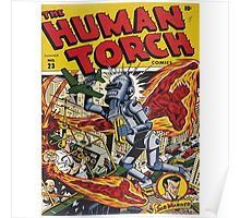 The Human Torch Poster