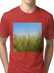 Nature Pixels No 29 Tri-blend T-Shirt