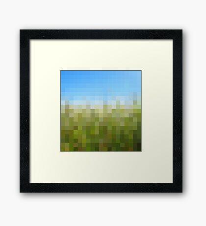 Nature Pixels No 29 Framed Print