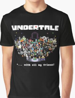 Monster Friends - Undertale Graphic T-Shirt