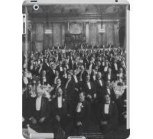 1906: Eleventh Annual Dinner, Erie Railroad Association, Hotel Savoy, New York (Library of Congress) iPad Case/Skin