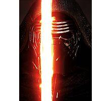 Kylo Ren Star Wars Force Awakens Photographic Print