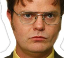 King Dwight (the office) Sticker