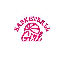 Basketball girl Photographic Print
