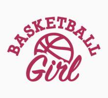 Basketball girl Kids Tee