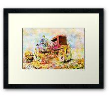 Farming Framed Print
