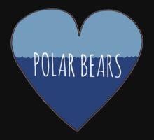 Polar Bear Love Baby Tee