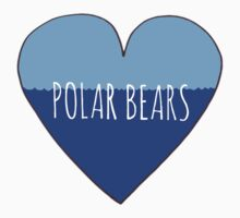 Polar Bear Love Kids Tee
