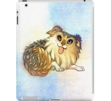Watercolor Australian Shepherd Dog iPad Case/Skin