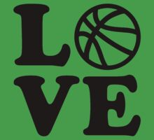 Basketball love Kids Tee