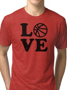Basketball love Tri-blend T-Shirt