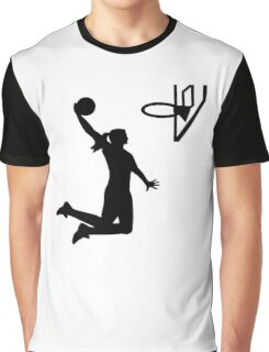 Basketball girl woman Graphic T-Shirt