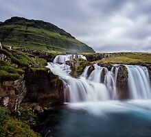 Kirkjufellsfoss From a Different Angle by Kristin Repsher