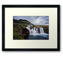 Kirkjufellsfoss From a Different Angle Framed Print