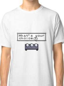 What's your choice? Pokemon Classic T-Shirt