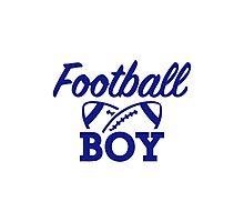 Football boy Photographic Print