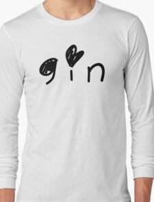 Cute Gin Long Sleeve T-Shirt