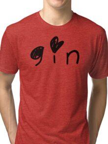 Cute Gin Tri-blend T-Shirt