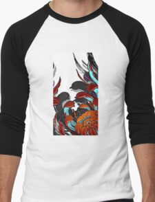 Chrysanthemum 4 Men's Baseball ¾ T-Shirt