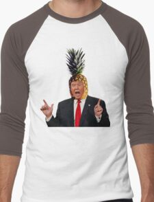 Donald Trump a.k.a. The Pineapple King Men's Baseball ¾ T-Shirt