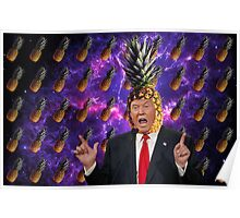 Donald Trump a.k.a. The Pineapple King Poster