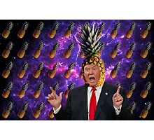 Donald Trump a.k.a. The Pineapple King Photographic Print