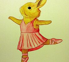 Ballerina Bunny by Scott Emerling