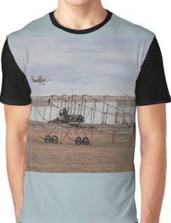 Boxkite & DH82A,Point Cook Airshow,Australia 2014 Graphic T-Shirt