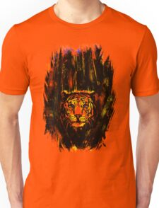 Tiger In The Bushes Unisex T-Shirt