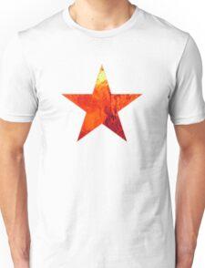 Flaming Star Unisex T-Shirt