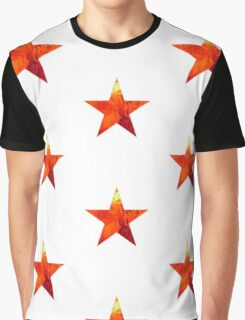 Flaming Star Graphic T-Shirt