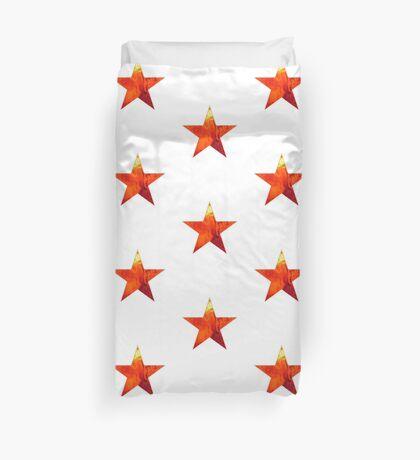 Flaming Star Duvet Cover