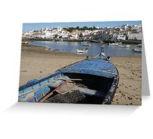 Ferragudo, Portugal  Greeting Card