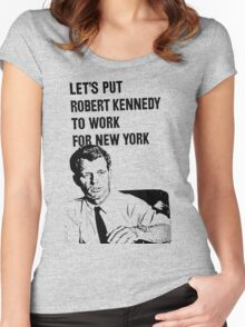 RFK-NY Women's Fitted Scoop T-Shirt