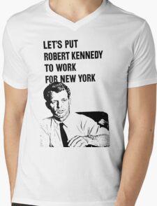 RFK-NY Mens V-Neck T-Shirt