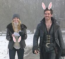 Captain Swan Bunny Ears by englishrosenz