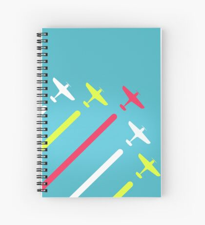 The Five Planes Spiral Notebook
