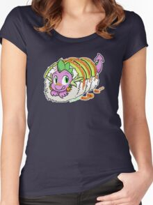Dragon Roll (MLP) Women's Fitted Scoop T-Shirt