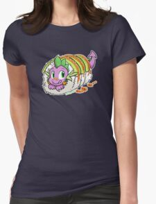 Dragon Roll (MLP) Womens Fitted T-Shirt