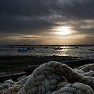 Harbour Sunset by Nigel Bangert